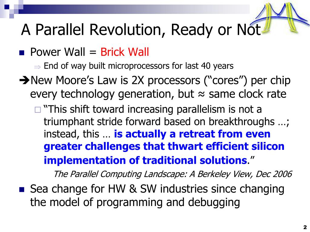 A Parallel Revolution, Ready or Not