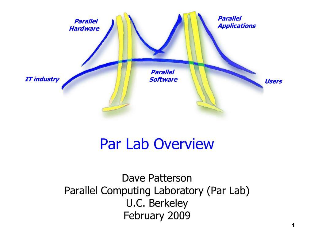 Par Lab Overview