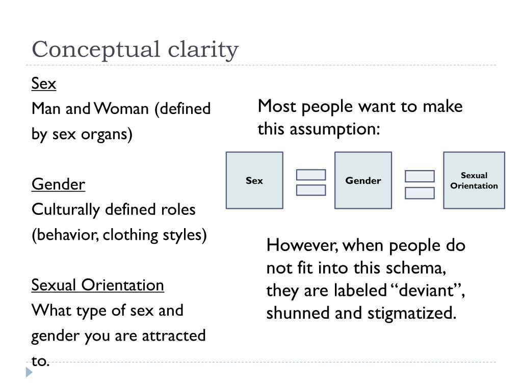 Conceptual clarity
