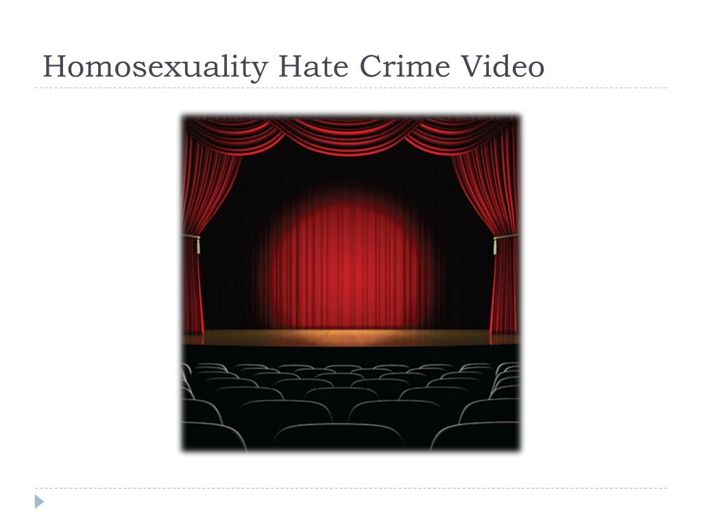 Homosexuality Hate Crime Video