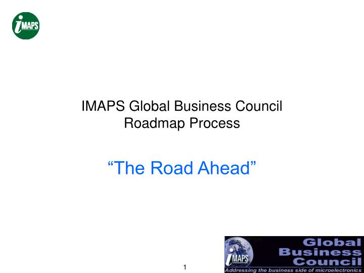Imaps global business council roadmap process