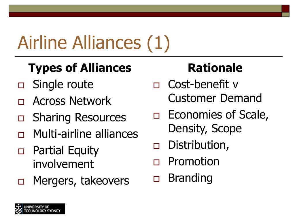 Types of Alliances