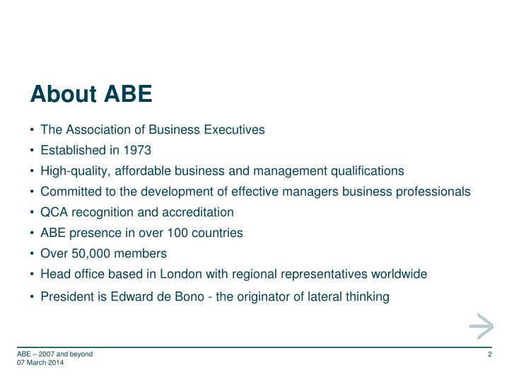 About abe