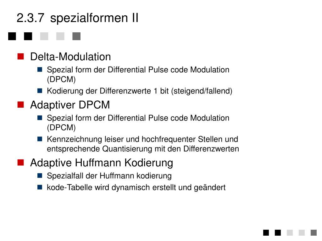 2.3.7spezialformen II