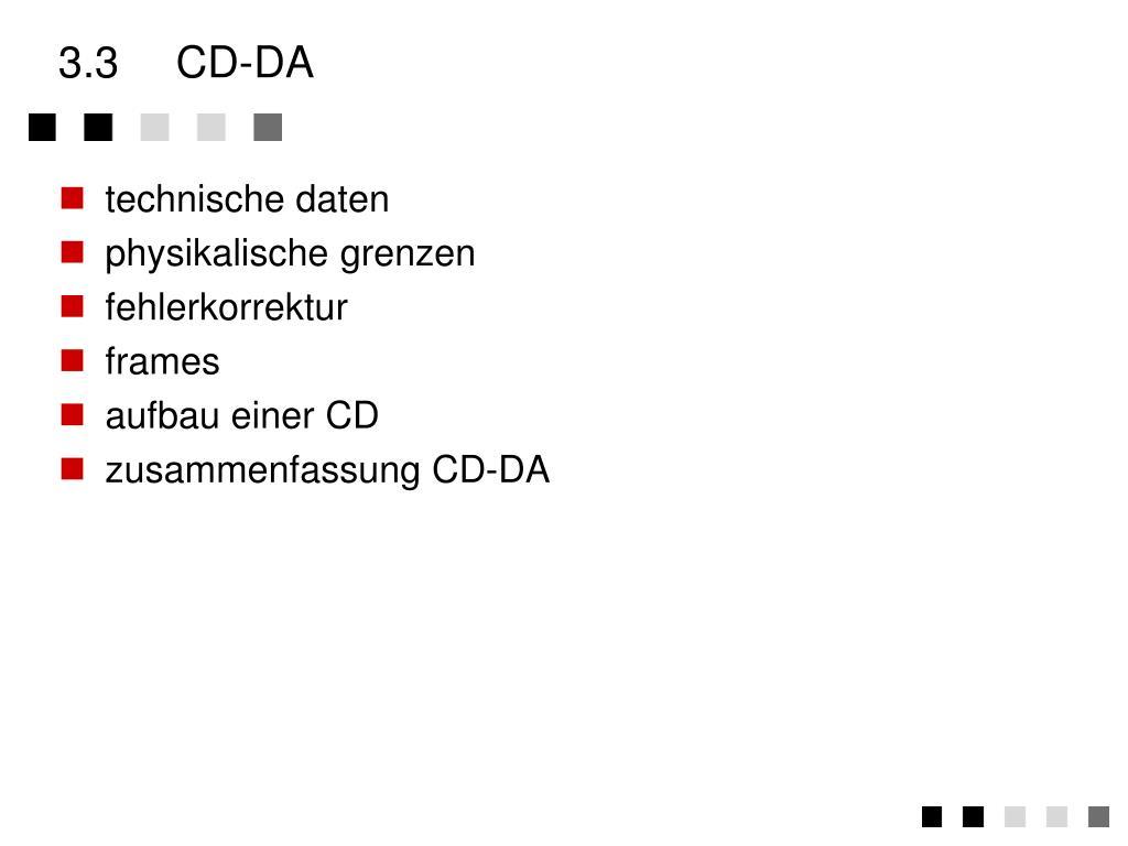 3.3CD-DA
