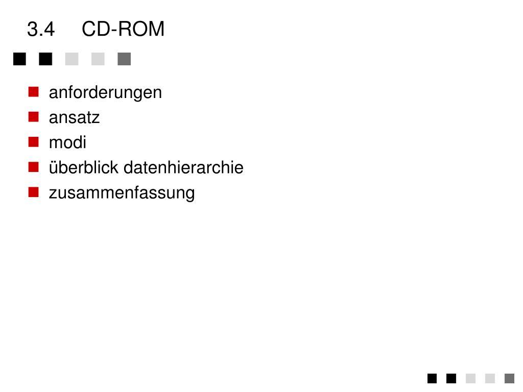 3.4CD-ROM