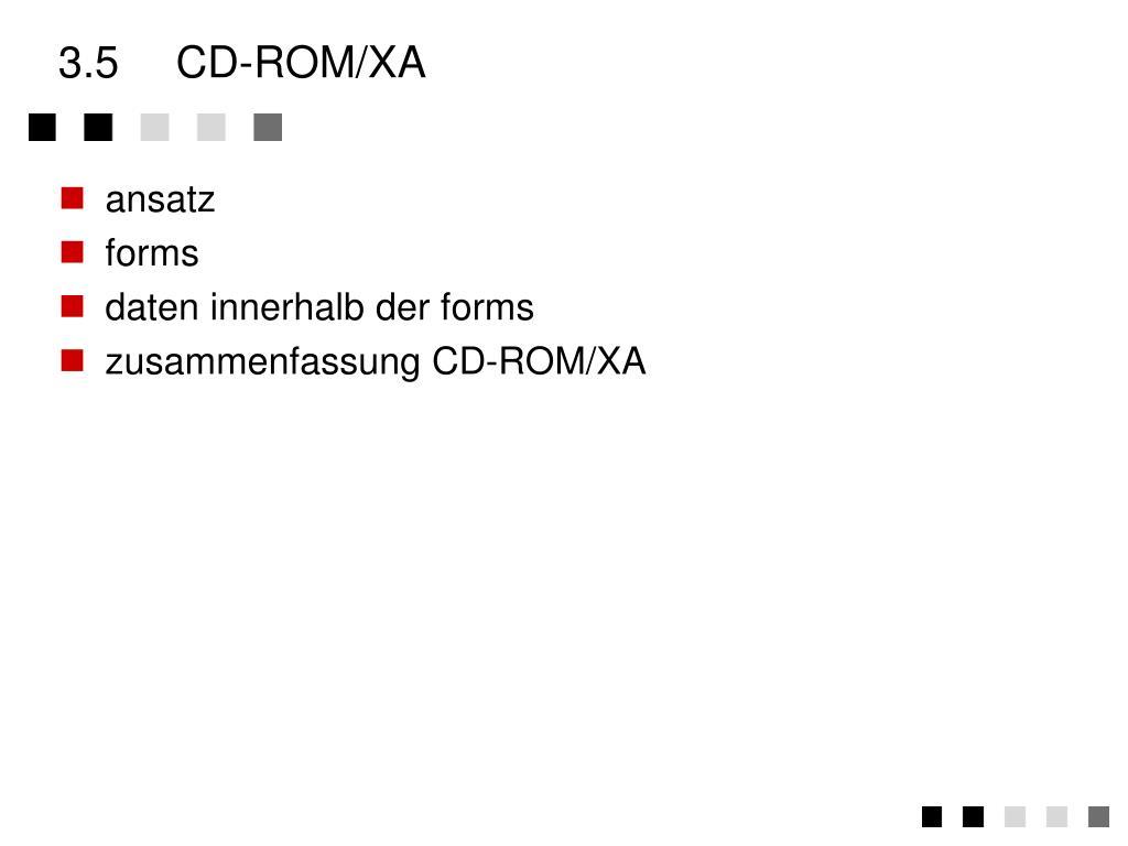 3.5CD-ROM/XA