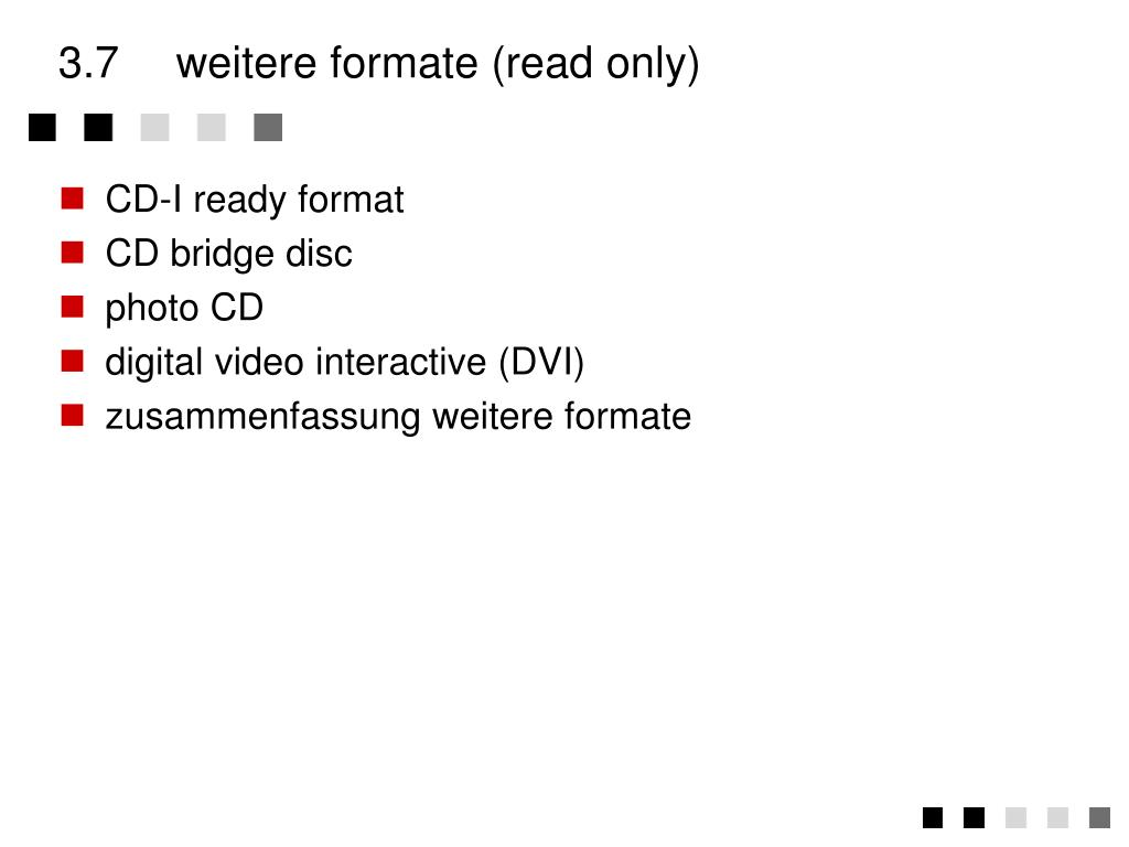3.7weitere formate (read only)