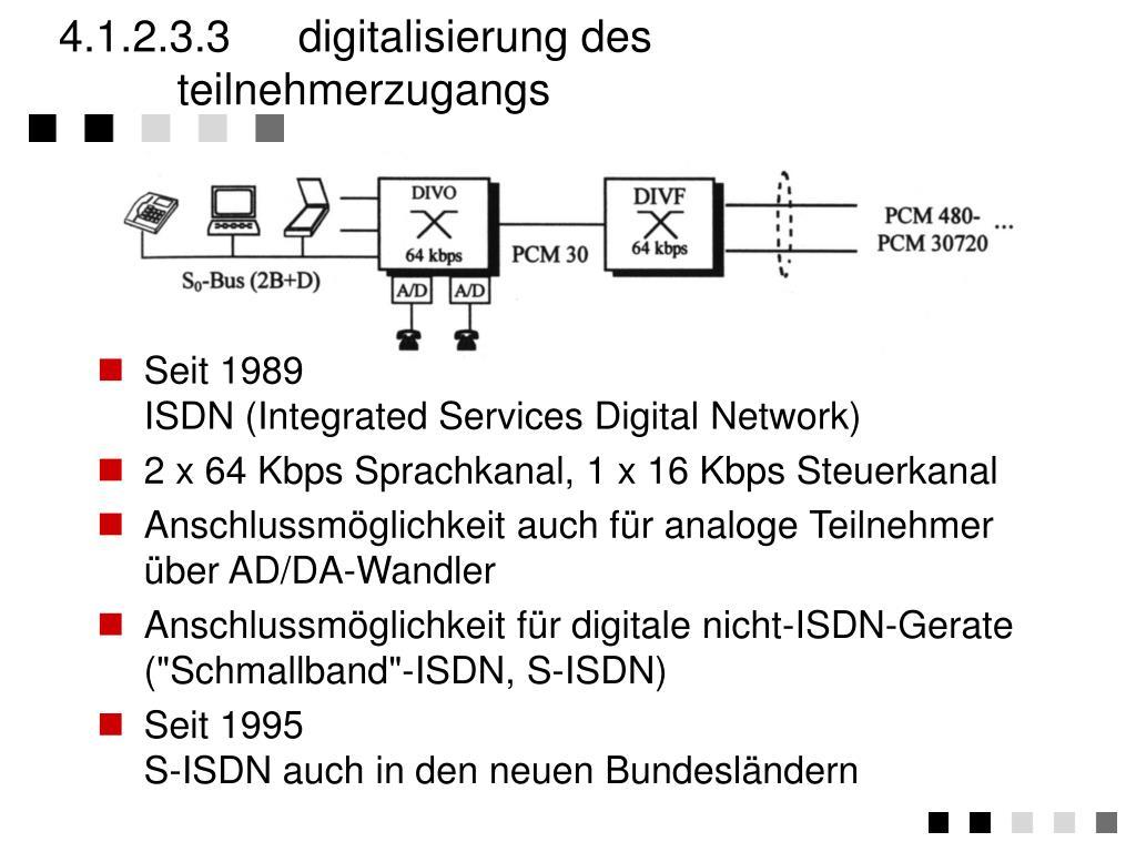 4.1.2.3.3 digitalisierung des teilnehmerzugangs