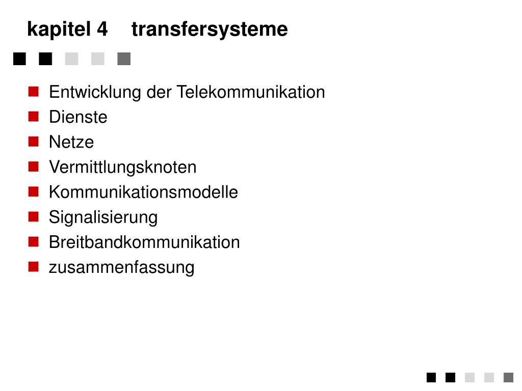 kapitel 4transfersysteme