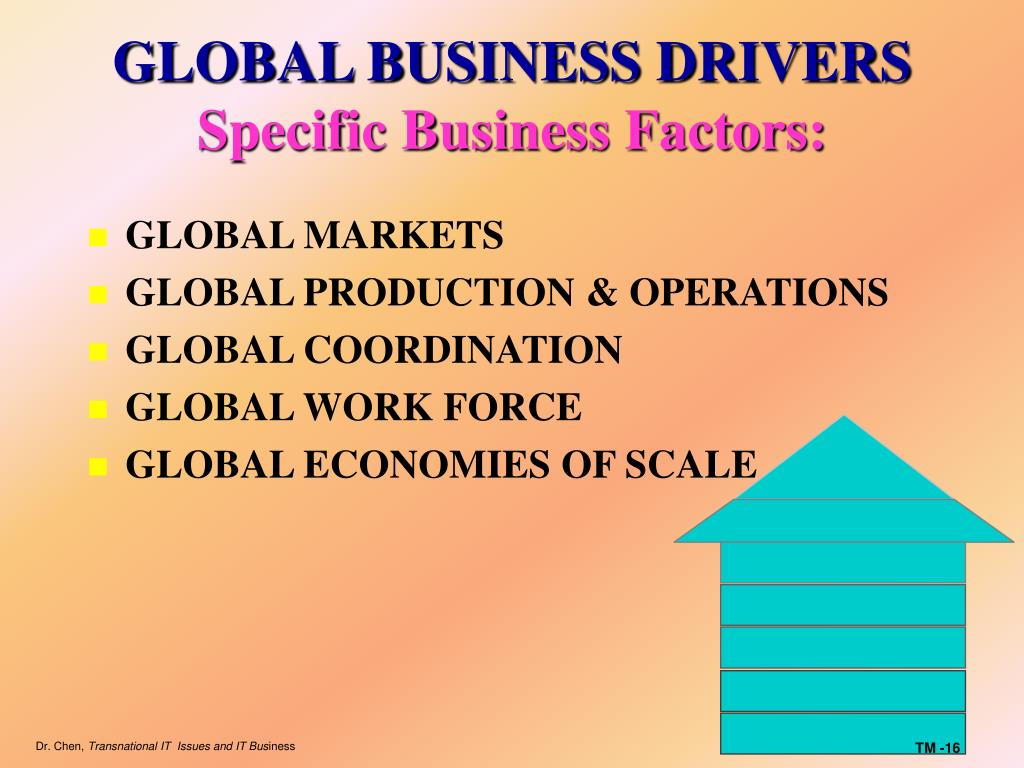 GLOBAL BUSINESS DRIVERS