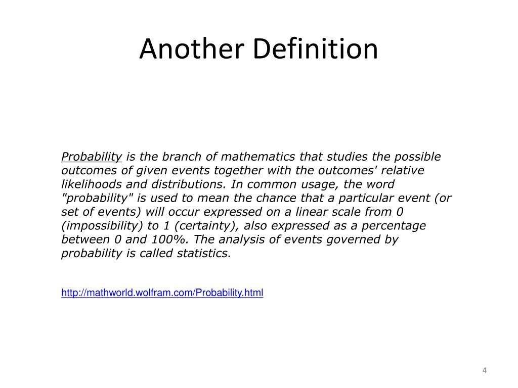 Another Definition