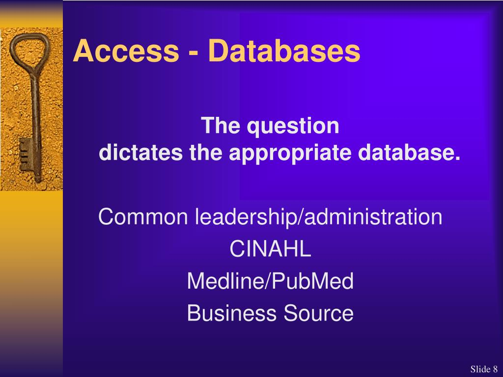 Access - Databases