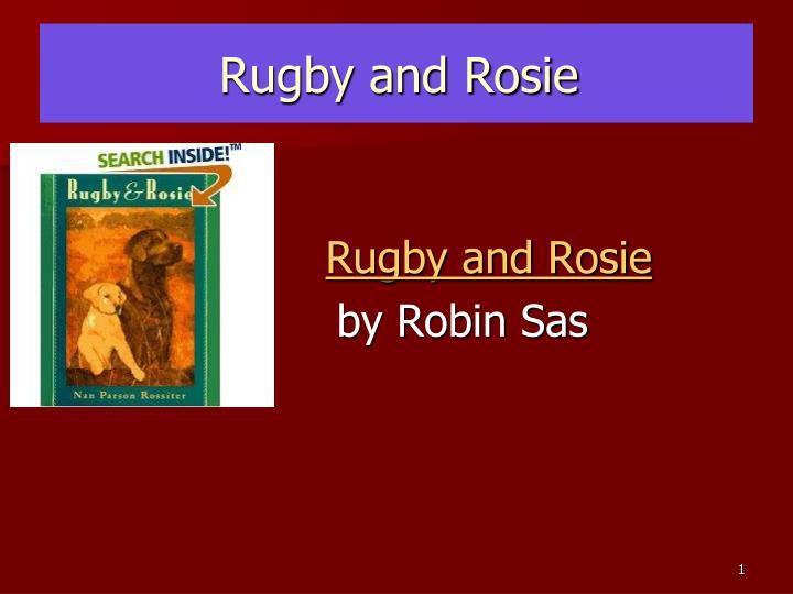 rugby and rosie n.