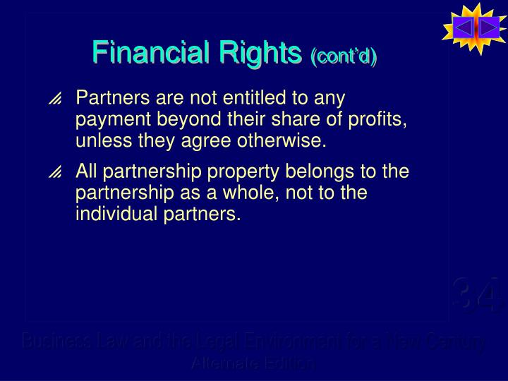 Financial Rights