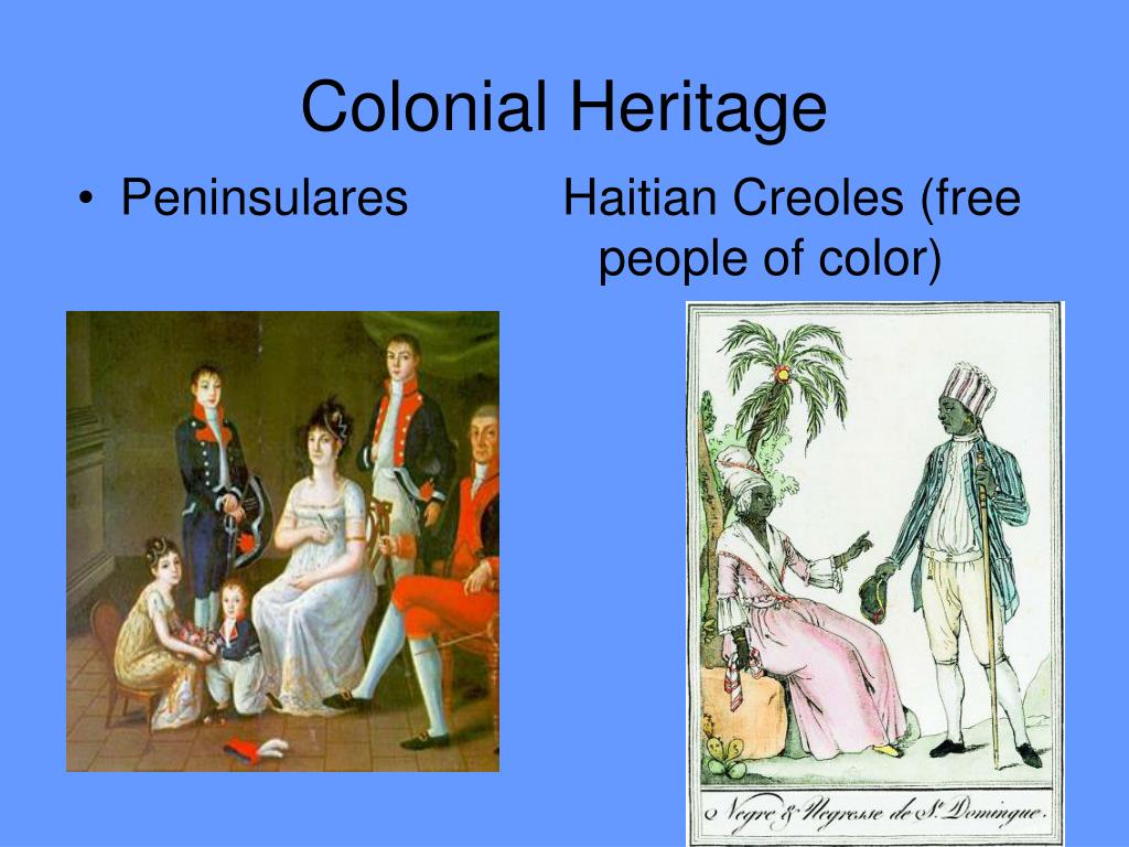 Colonial Heritage