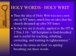 holy words holy writ5