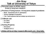 jim gray talk at university of tokyo40