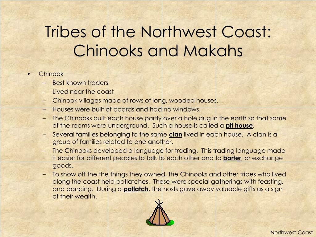 Tribes of the Northwest Coast: