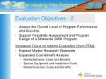 evaluation objectives 2