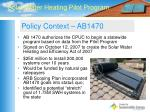 policy context ab1470