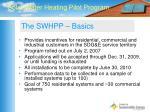 the swhpp basics