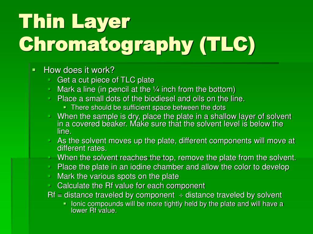 Thin Layer Chromatography (TLC)