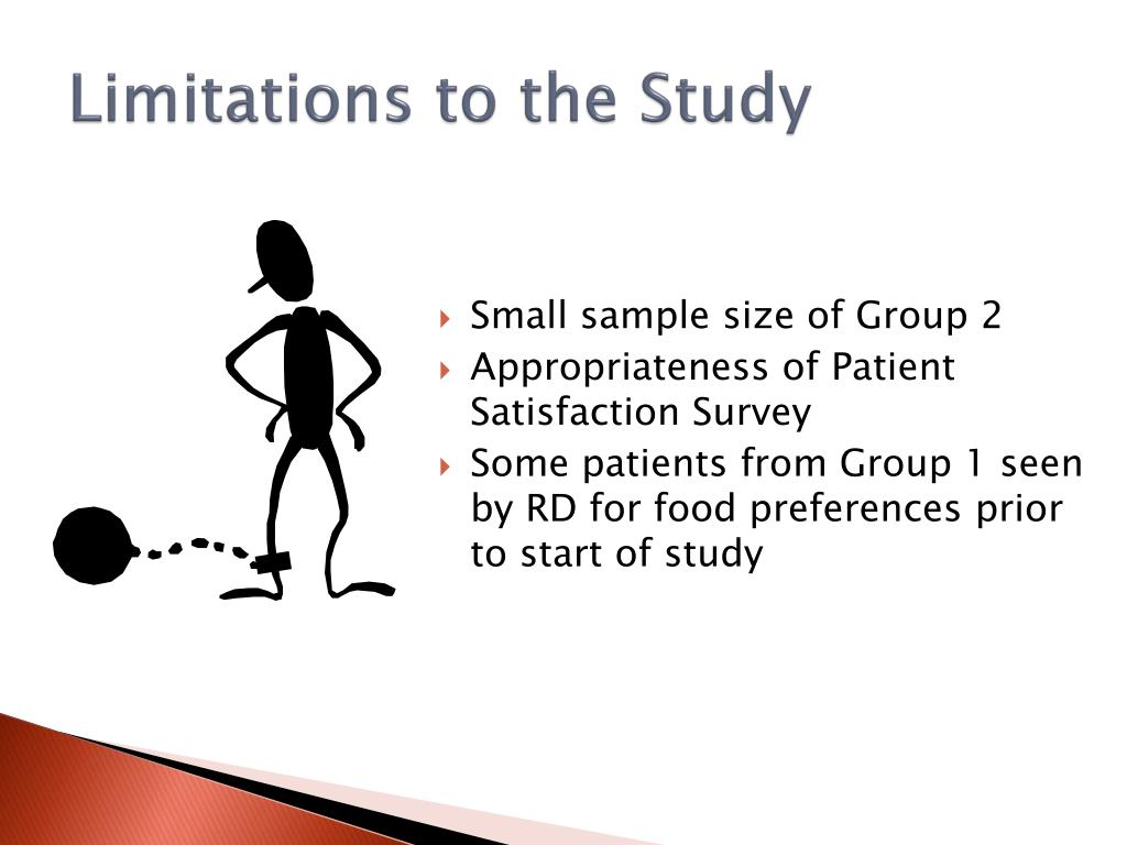 Limitations to the Study