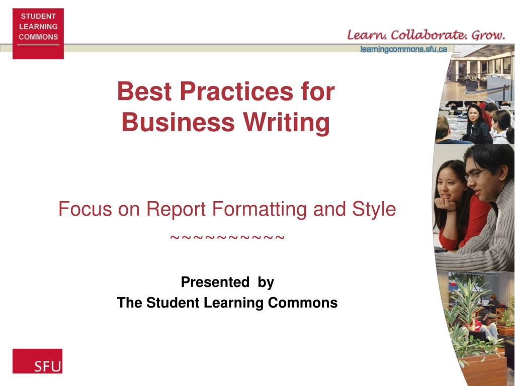 best practices for business writing l.
