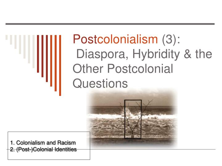 features of post colonialism and its application Best answer: post-colonialism (postcolonial theory, post-colonial theory) is a specifically post-modern intellectual discourse that consists of reactions to, and analysis of, the cultural legacy of colonialism.