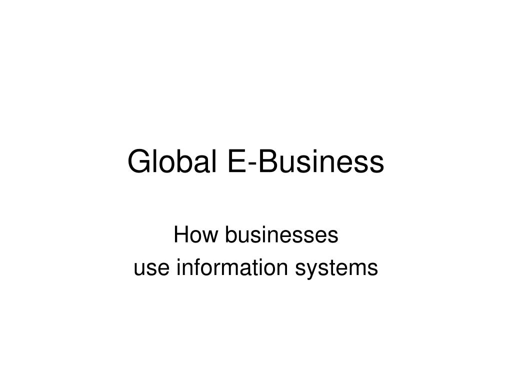 global e business l.