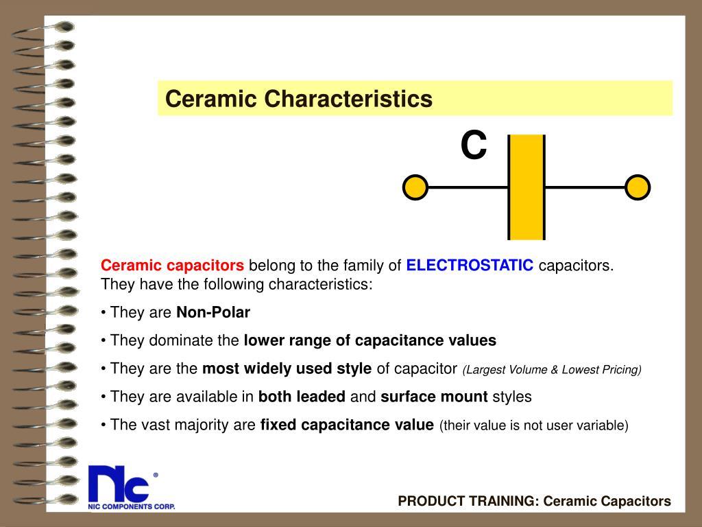 Ceramic Characteristics