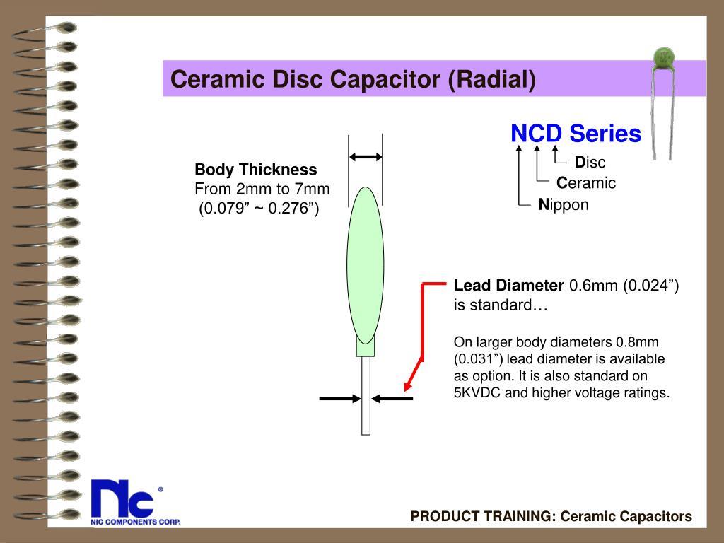 Ceramic Disc Capacitor (Radial)