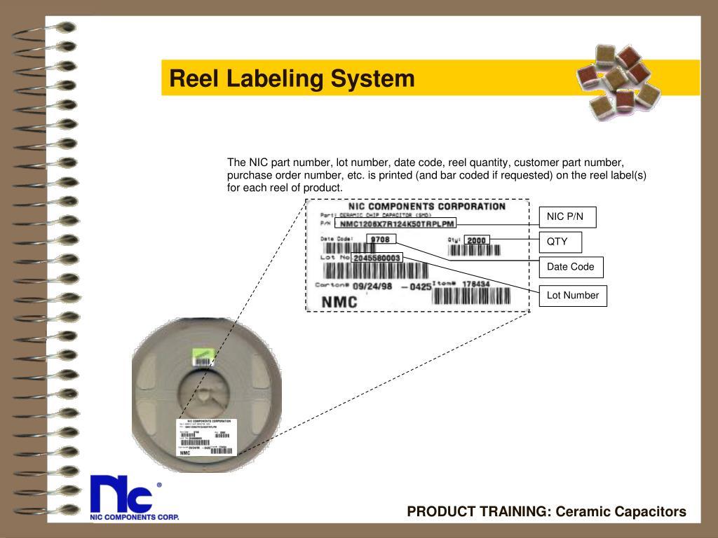 Reel Labeling System