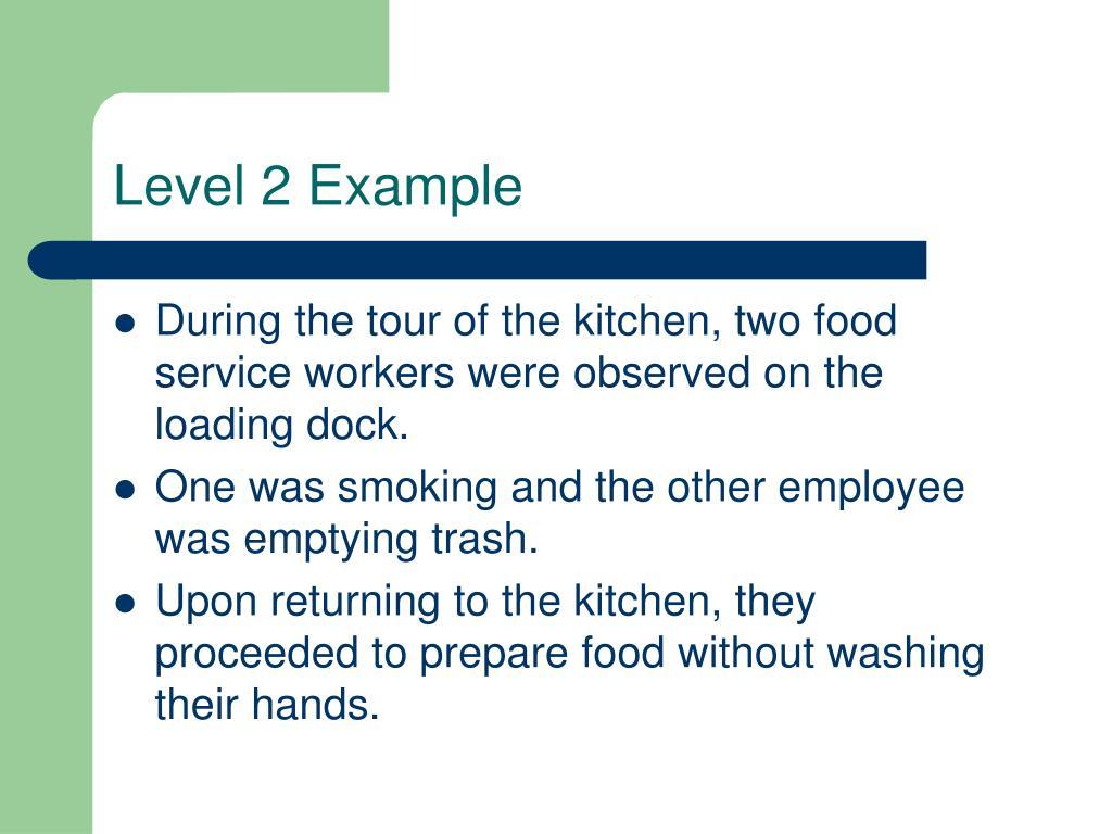 Level 2 Example