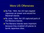 more us offensives