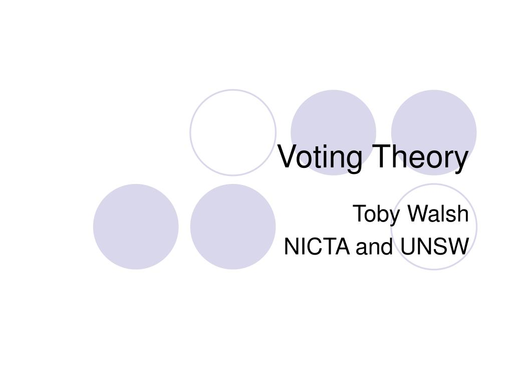 Voting Theory