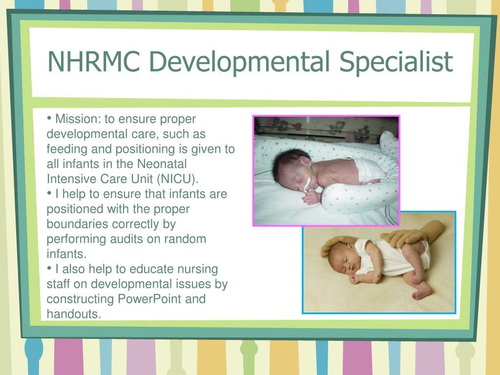 NHRMC Developmental Specialist