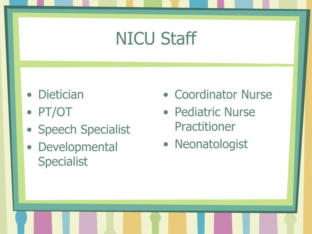 NICU Staff