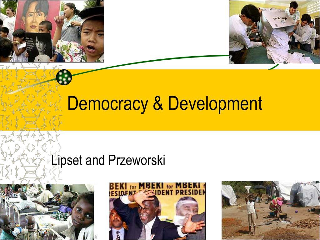 Democracy & Development