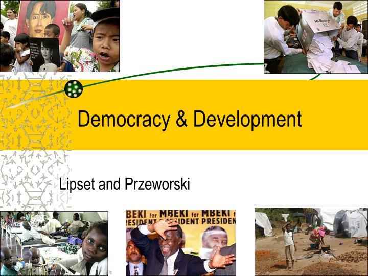 Democracy development