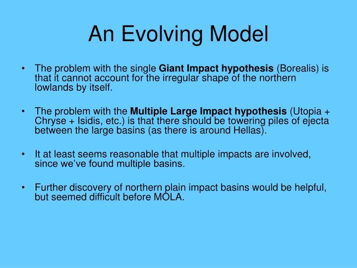 An Evolving Model