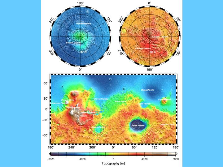 Origin of the martian hemispheric dichotomy the case for impacts
