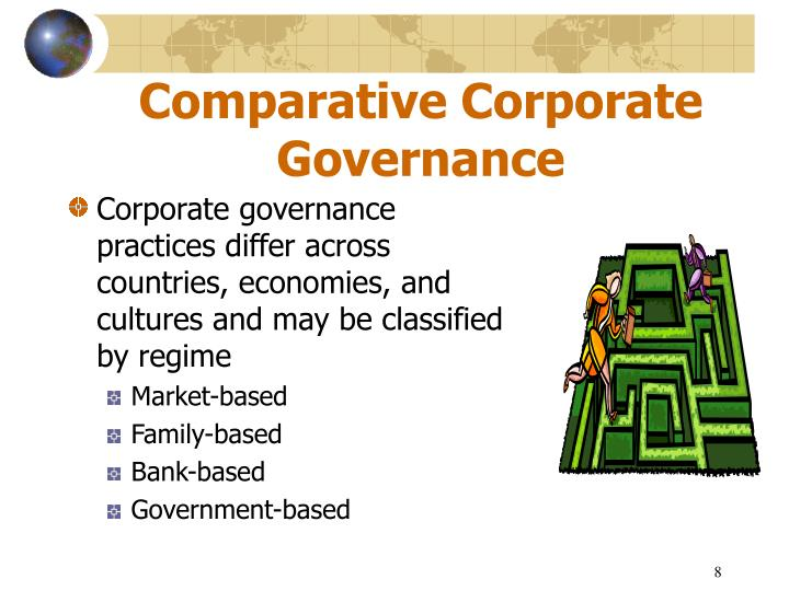 comparative and international corporate governance Corporate governance post-enron: comparative and the corporate governance issues of the enron débâcle corporate governance post-enron: comparative and.