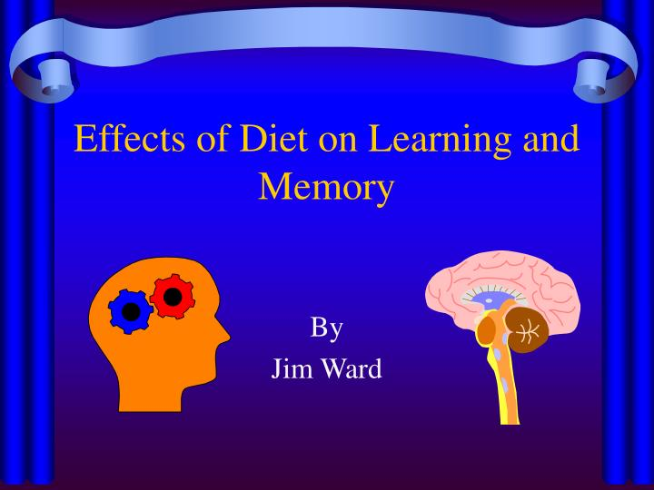 effects of diet on learning and memory n.