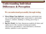 understanding individual differences perception10