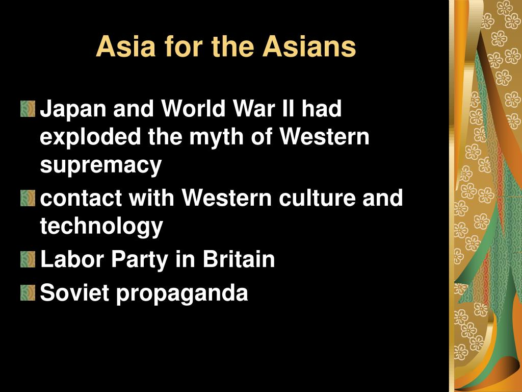 Asia for the Asians