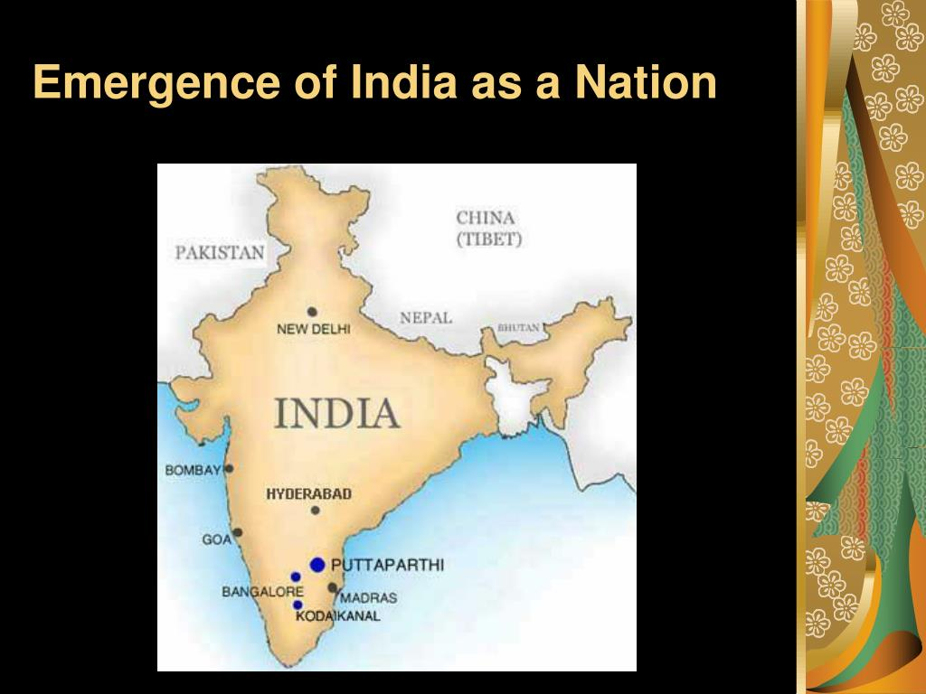 Emergence of India as a Nation