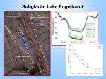 subglacial lake engelhardt
