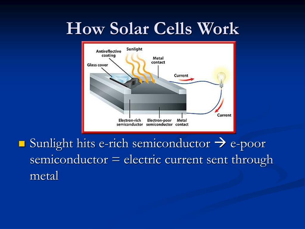 How Solar Cells Work